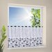 House Additions Patchwork Bistro Curtain