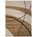 House Additions Raphael Brown/Cream Area Rug
