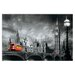 """House Additions """"Bus on Westminster Bridge"""" by Yannick Yanoff Graphic Art Plaque"""