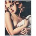"House Additions ""Donna Con Colomba"" by De Lempicka Art Print Plaque"