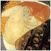 House Additions 'Danae Detail' by Klimt Art Print Plaque