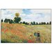 House Additions 'Coquelicot' by Monet  Art Print Plaque