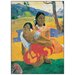 """House Additions """"When Will You Marry"""" by Gauguin Art Print Plaque"""