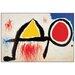 House Additions 'Personagge Devan Le Soleil' by Miro Art Print Plaque