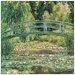 House Additions 'Le Pont Japonais' by Monet Art Print Plaque