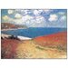House Additions 'Meadow Road To Pourville' by Monet Art Print Plaque