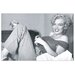 "House Additions ""Marilyn Monroe Bed"" Photographic Print Plaque"