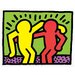 House Additions 'Pop Shop I' by Haring Graphic Art Plaque