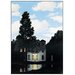 """House Additions """"L Empire Des Lumieres"""" by Magritte Photographic Print Plaque"""