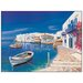 House Additions 'Porticciolo Greco' by Galasso Graphic Art Plaque