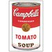 House Additions 'Campbell S Soup' by Warhol  Vintage Advertisement Plaque