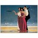 House Additions 'The Missing Man I' by Vettriano Art Print Plaque