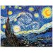 """House Additions """"Notte Stellata"""" by Van Gogh Art Print Plaque"""