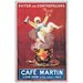 House Additions 'Cafè Martin 1921' by Cappiello Vintage Advertisement Plaque