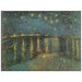 House Additions 'Starry Night 1888' by Van Gogh Art Print Plaque