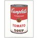 House Additions 'Campbell Soup (Tomato 1968)' by Warhol Vintage Advertisement Plaque in White