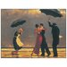 House Additions 'The Singing Butler' by Vettriano Art Print Plaque