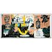 House Additions 'El Gran Espectaculo (History of Black People)' by Basquiat Graphic Art Plaque