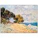 House Additions 'Cap Martin' by Monet Art Print Plaque