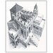 """House Additions """"Ascending and Descending, 1960"""" by Escher Graphic Art Plaque"""