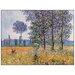 House Additions 'Felder in Fruehling' by Monet Art Print Plaque