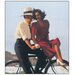 "House Additions ""Lazy Hazy Days"" by Vettriano Art Print Plaque"