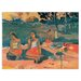 "House Additions ""Nave Nave Moe"" by Gauguin Art Print Plaque"