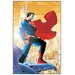 House Additions 'Superman' by Jim Lee  Vintage Advertisement Plaque