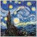 House Additions 'Notte Stellata Detail' by Van Gogh Art Print Plaque