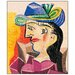 """House Additions """"Woman with a Blue Hat"""" by Picasso Art Print Plaque"""