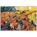 House Additions 'Die Roten Weinberge Von Arles' by Van Gogh Art Print Plaque