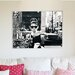 "House Additions ""Audrey Hepburn"" Photographic Print Plaque"