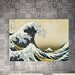 House Additions 'L'onda' by Hokusai Graphic Art Plaque