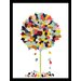 House Additions Colour Tree Framed Graphic Art