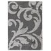House Additions Anglet Dark Grey/Light Grey Area Rug