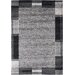 House Additions Hand-Woven Grey Area Rug
