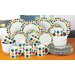 House Additions Many Dots 32-Piece Dinnerware Set
