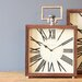 House Additions Rossberg Wood Clock