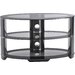 """House Additions Los Tint TV Bench for TVs up to 55"""""""