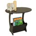 House Additions End Table Magazine Rack