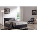 Home & Haus Milan Upholstered Ottoman Bed