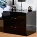 Home & Haus Boston 2 Drawer Bedside Table