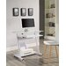 Home & Haus Computer Desk with Keyboard Tray