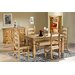 Home & Haus Traditional Corona Solid Pine Dining Chair