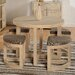 Home & Haus Cambourne Dining Table and 4 Chairs