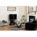 Home & Haus Norfolk Coffee Table with Magazine Rack