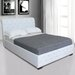 Home & Haus Giselle Upholstered Sleigh Bed