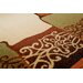 Home & Haus Sphere Brown Area Rug