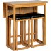 Home & Haus Caspian Dining Table and 2 Chairs
