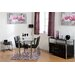Home & Haus Amy Trent Dining Table and 4 Chairs
